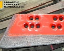 Hardfaced Dozer Cutting Edges